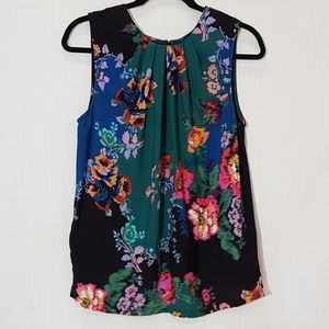 Anthropologie Vanessa Virginia Floral Top